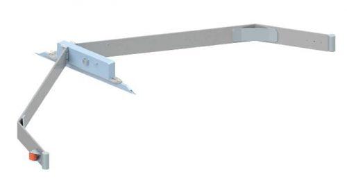 FL6800 Arrobadera galvanizada palas en V