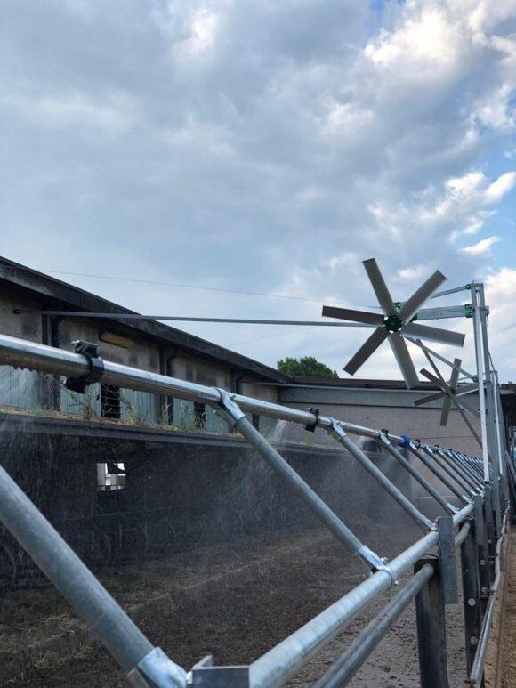 Ventilador para instalaciones ganaderas TOR de Arienti